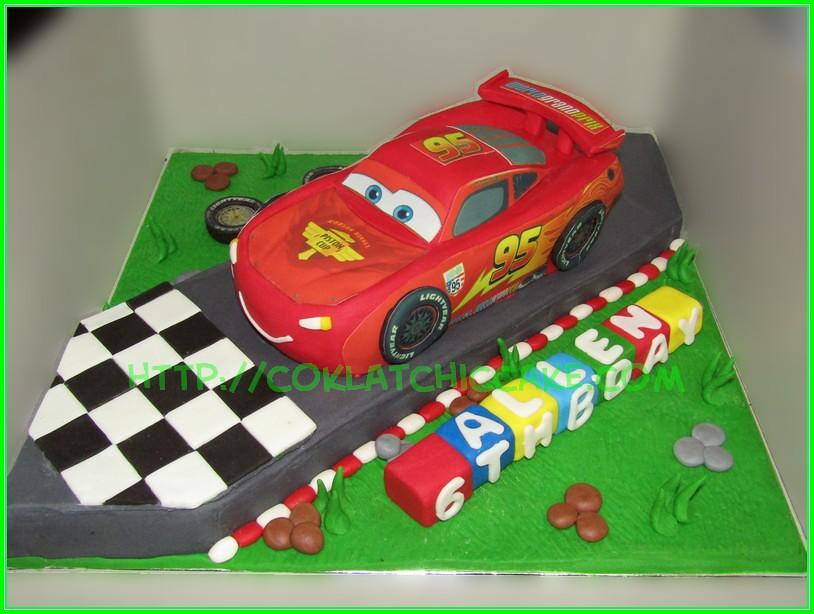 cake mcqueen