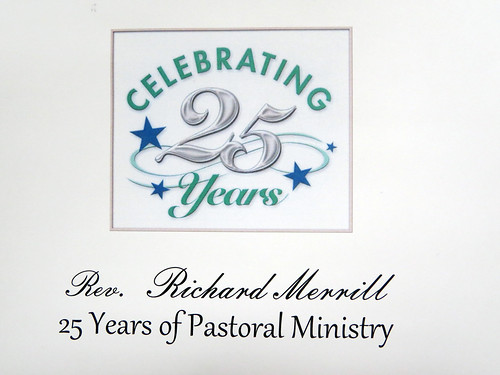 Pastor's 25th Anniversary in Ministry