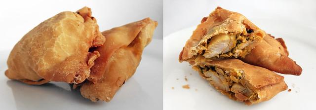 Samosa Kip van Narala Sweets