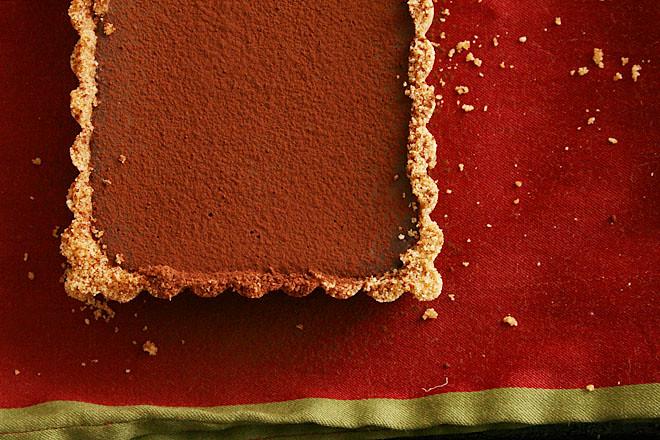 bittersweet chocolate pumpkin tart 6