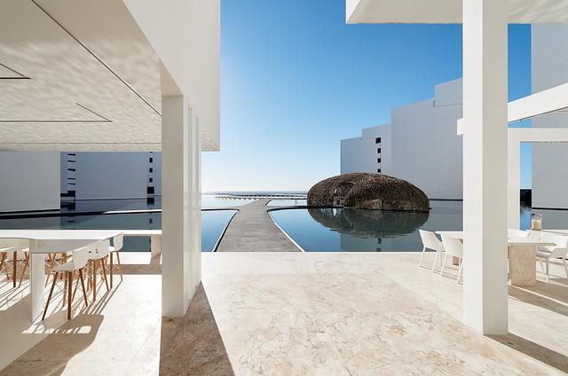 Hotel, residance, resort architecture Mar Adentro Sundeno_10