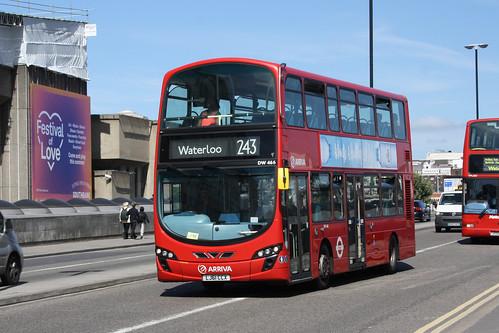 Arriva London North DW466 LJ61CCX