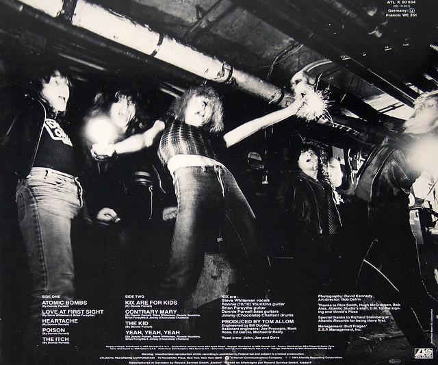 """KIX SELF-TITLED 12"""" LP"""