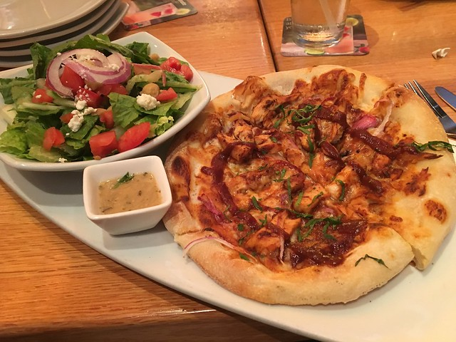 The original bbq chicken pizza - California Pizza Kitchen