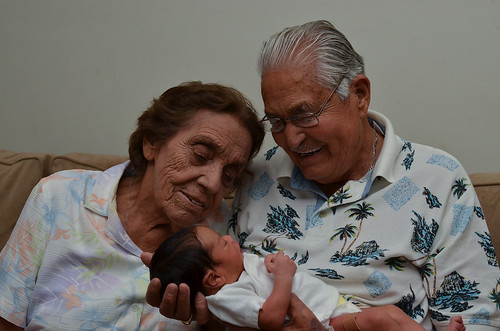 Meeting a newborn Xavi