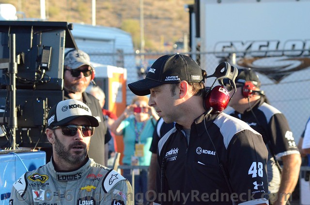Jimmie Johnson & Chad Knauss