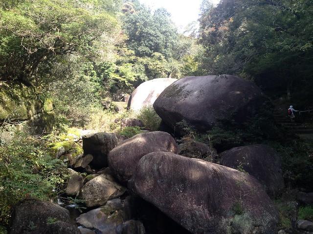 鬼岩公園 巨岩
