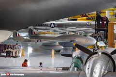 N174LA VZ309 G - IB-1686 - Royal Air Force - De Havilland DH-100 Vampire FB52 - Evergreen Air and Space Museum - McMinnville, Oregon - 131026 - Steven Gray - IMG_8963_HDR