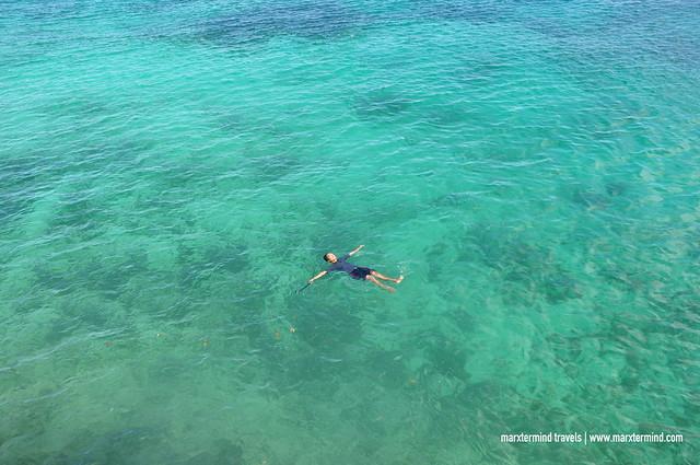 marxtermind at Salagdoong Beach Siquijor