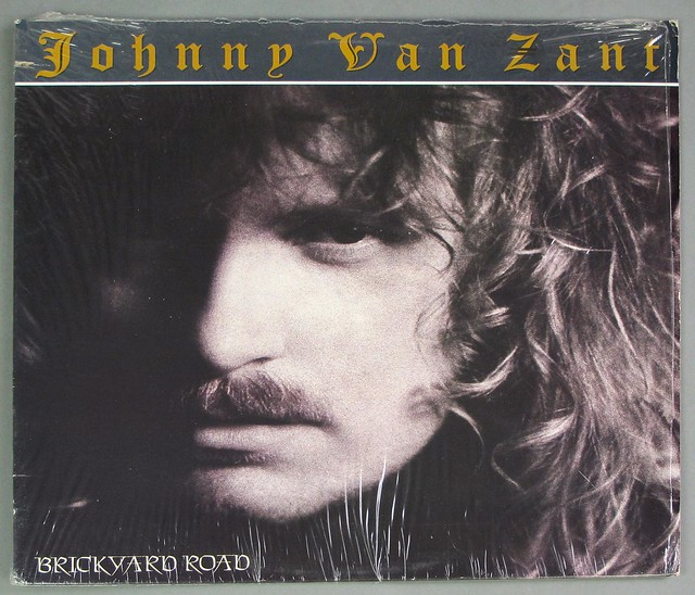 "JOHNNY VAN ZANT BRICKYARD ROAD 12"" LP VINYL"