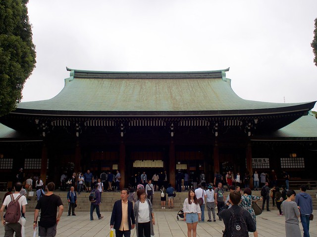 Meiji main shrine building