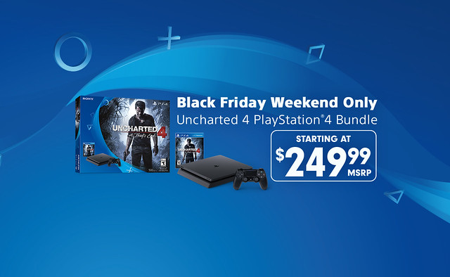 Black Friday Weekend Deal 249 99 Uncharted 4 Ps4 Bundle Playstation Blog