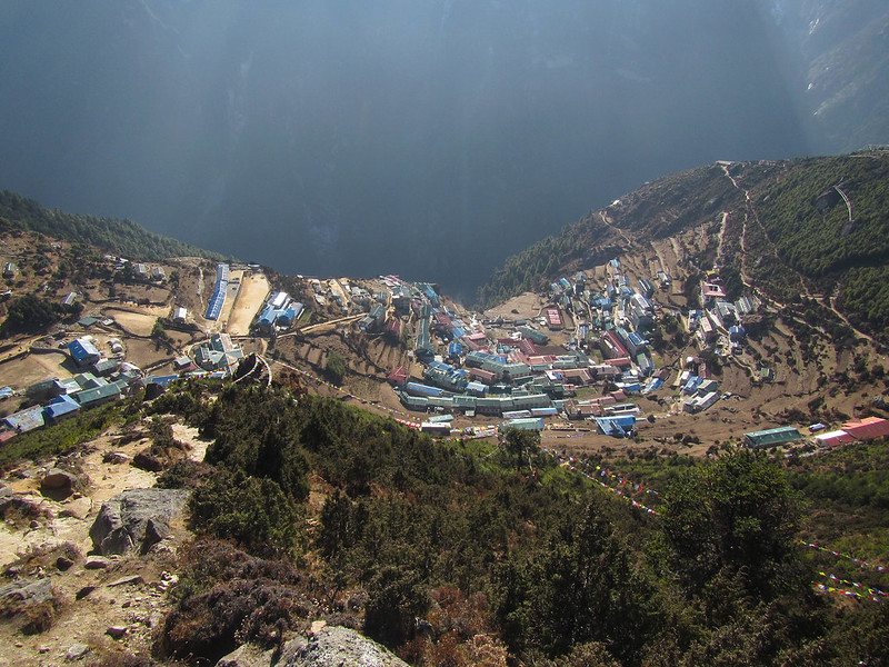 Namche From Above