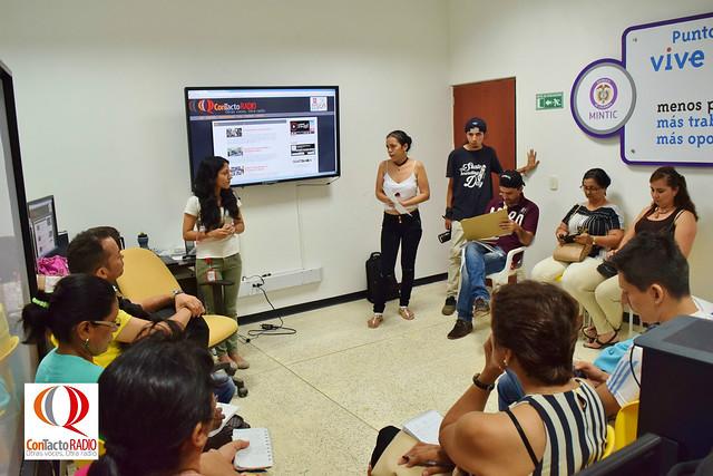 Primer taller radial docentes I.E Enrique Olaya Herrera