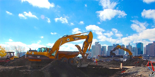 Clippership Wharf Site Work