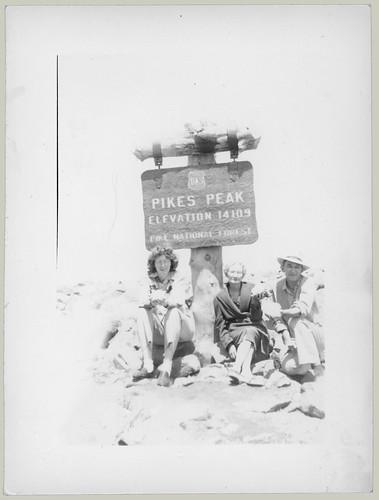 Trio at Pikes Peak