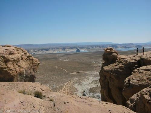 Overlooking Lake Powell and a Graveyard of Fallen Arches on the Utah / Arizona boarder