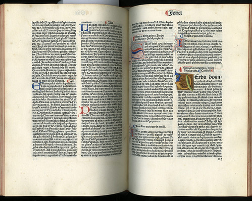 Bible. Latin. Venice, 1480. | by University of Glasgow Library