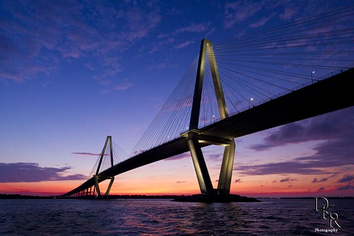 Cooper River Bridge in Charleston South Carolina | by Dustin K. Ryan