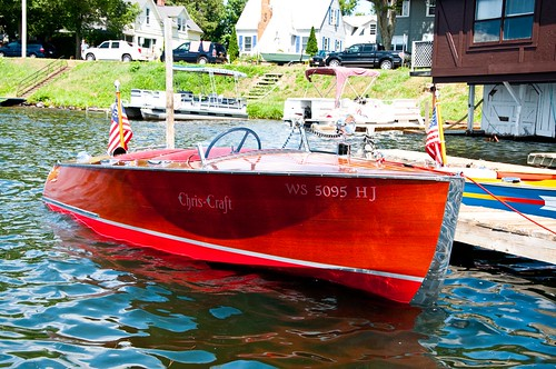 Wooden Chris Craft Runabout For Sale