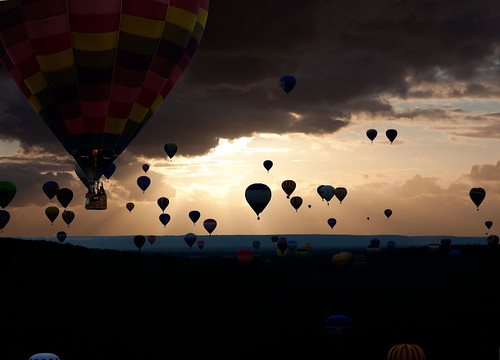 Sunset at LORRAINE MONDIAL AIR BALLONS, Chambley, France | by Gaston Batistini