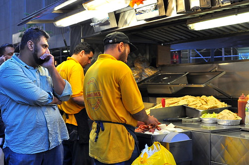 53rd and 6th Halal Cart - New York City | by Cathy Chaplin | GastronomyBlog.com