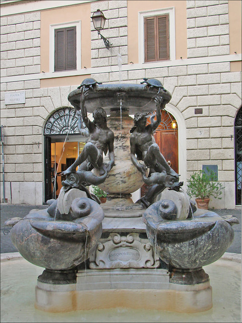 Le fontaine des Tortues (Rome)