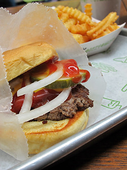shake shack burger | by David Lebovitz
