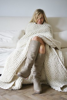 100% wool boots & blanket | by wood & wool stool