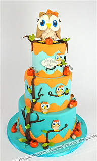 Owl cake | by Design Cakes