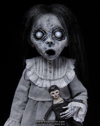 Christina - Ghost Art Doll Figurine | by Shain Erin