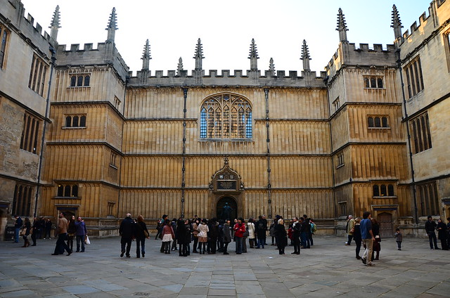 Courtyard of the Bodleian Library, Oxford