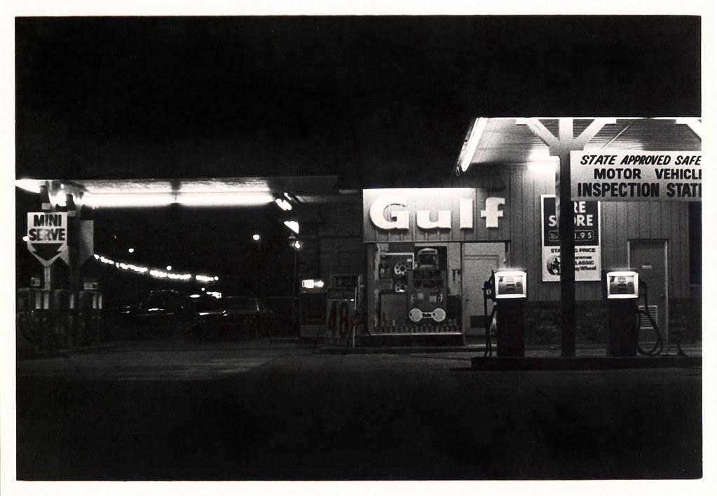 Late 1970s, Gulf  Service Station, Augusta, GA