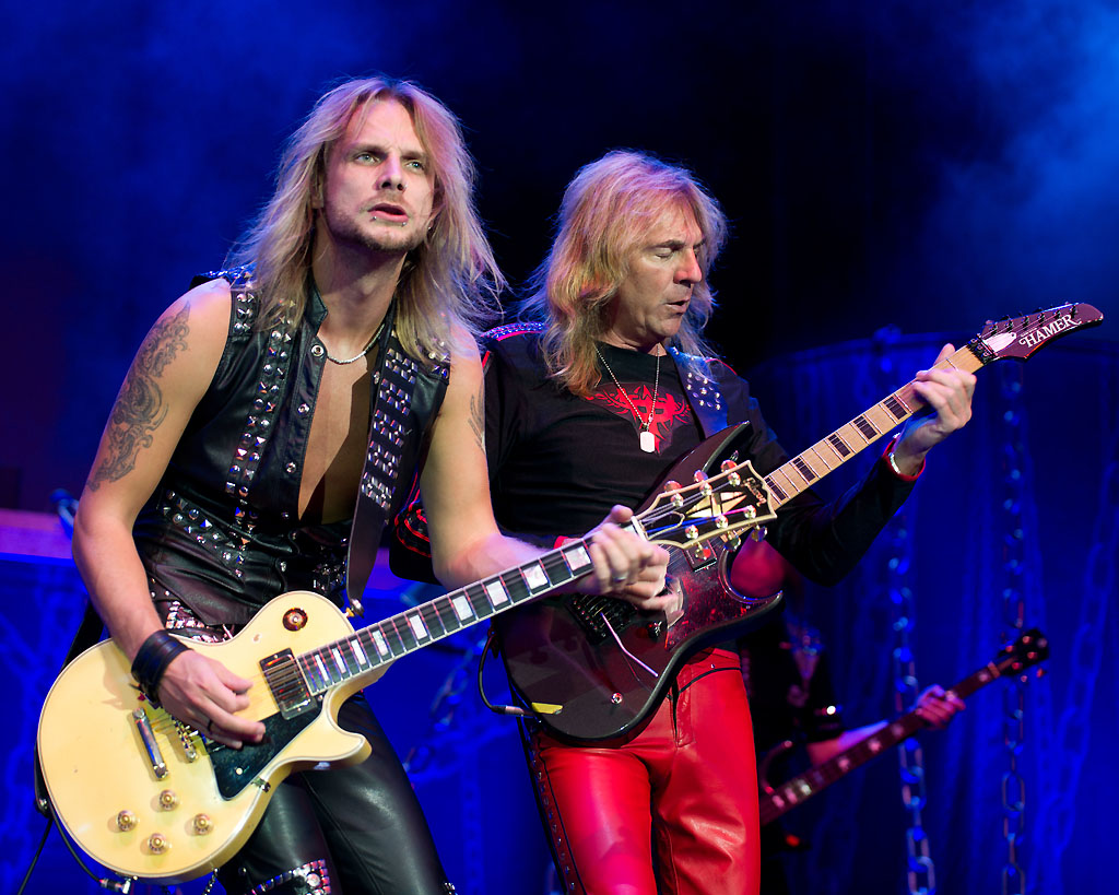 Richie Faulkner and Glenn Tipton