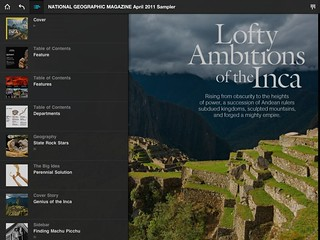 national geographic ipad | by Mediakirja
