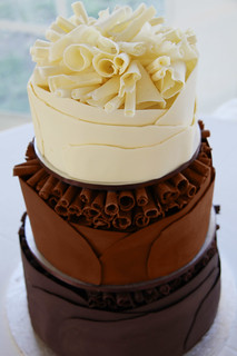 Chocolate Wedding Cake | by Coco Jo Cake Design