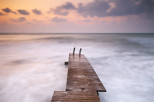 Little Pier at Sunrise | by DavidFrutos