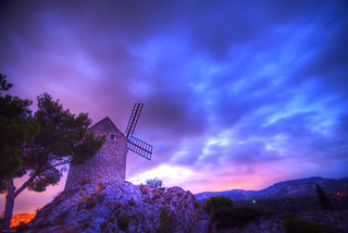 Windmill Sunrise | by marcovdz