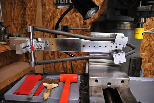 Chainstay Mitering Jig | by 44 Bikes Archive