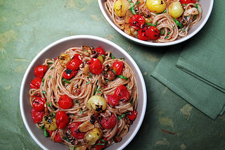Charred Tomato Pasta | by aida mollenkamp