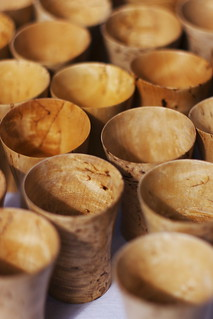 Wooden cups | by blaahhi