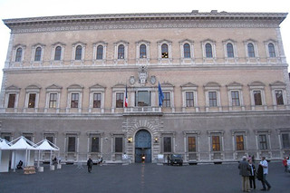 Palazzo Farnese – home to Scarpia in Puccini's opera © ROH 2011 | by Royal Opera House Covent Garden