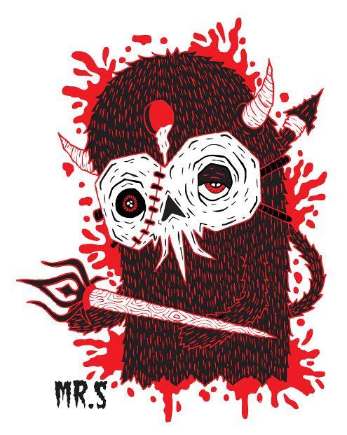 scariest sticker