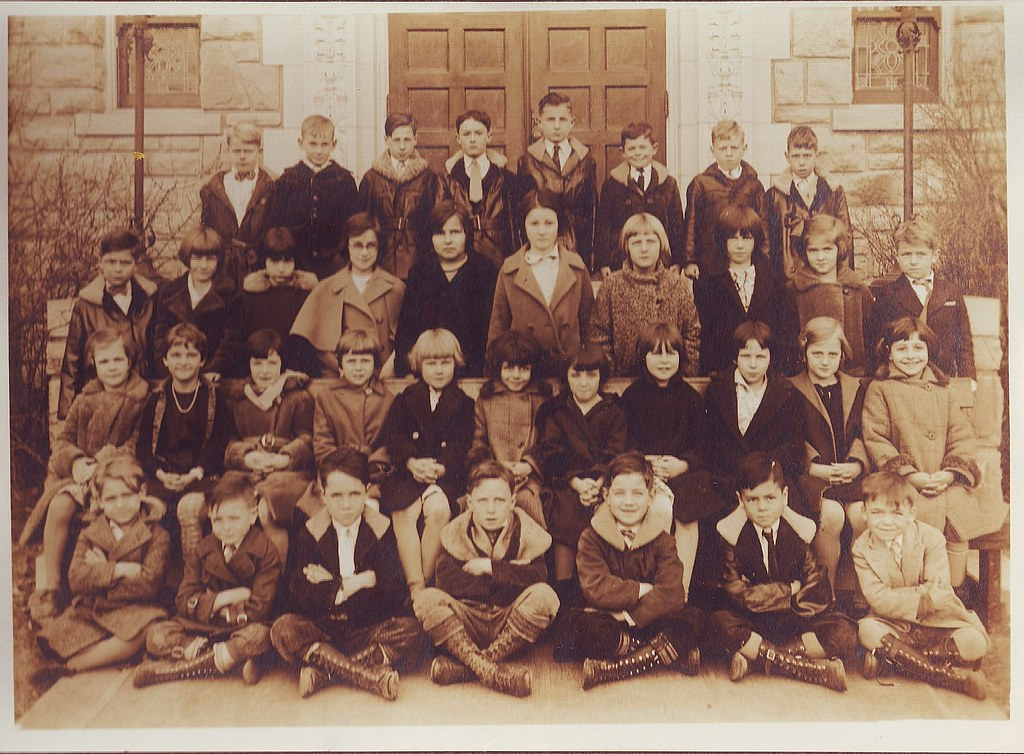 St. Elizabeth's Grade School-Year 1930-31; Kansas City, MO