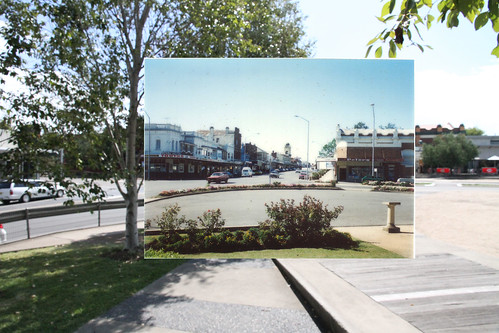 Bridge St looking north from QE2 Square | by Muswellbrook Heritage Walk