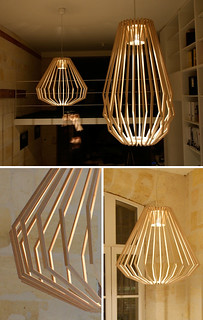 wooden lamp | by the style files