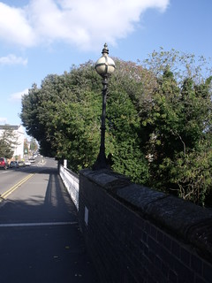 Adelaide Bridge, River Leam, Leamington Spa - lantern | by ell brown