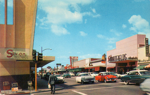 san fernando road burbank california 1950's | by it's better than bad