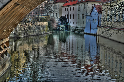 reflections on the Vltava | by Vin on the move
