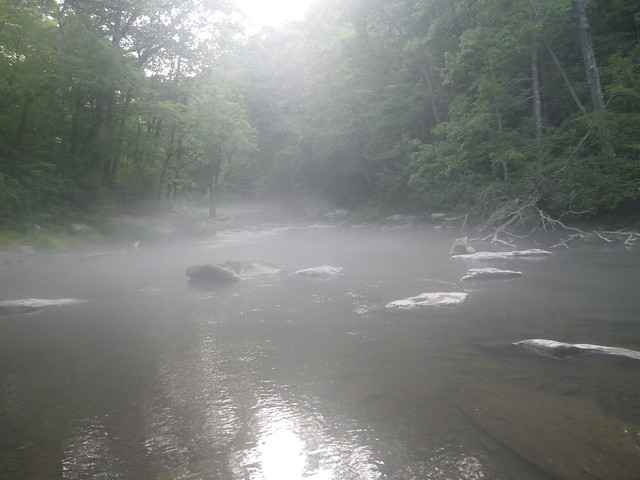 July flows on the Gunpowder river